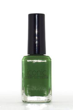 Kelly Green Nail Colour, Color, Nail Polish Brands, Luxury Nails, Kelly Green, Perfume Bottles, Beauty, Colour, Perfume Bottle