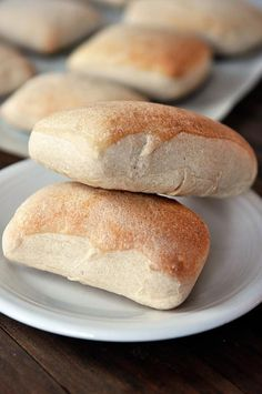 Chewy Italian Rolls {Step-by-Step} from @Mel {Mel's Kitchen Cafe}