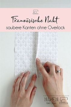 edges with the French seam. - Closed edges with the French seam. - -Closed edges with the French seam. Baby Knitting Patterns, Sewing Patterns Free, Free Sewing, Crochet Patterns, Afghan Patterns, Hand Sewing, Sewing Basics, Sewing Hacks, Sewing Tutorials