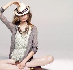 Magdalena Frackowiak for J.crew / Fashion ads