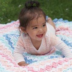 Bernat+Baby+Coordinates+Radiant+Ridges+Blanket
