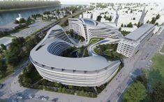 Beko Master Plan by Zaha Hadid Architects  #Hadid #Zaha Pinned by www.modlar.com