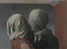 Primeras obras surrealistas de René Magritte: Los amantes, René Magritte