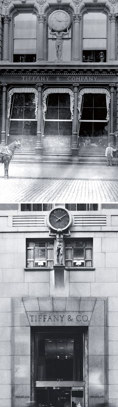 We've been setting time for New York since 1853 when Charles Lewis Tiffany installed the Atlas clock above his flagship store.