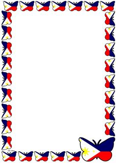 Philippine Flag Themed Lined Paper and Pageborders lesson plan template and teaching resources. A set of 'The Philippine Flag' themed lined paper and page borders for your History or English writing composition or Maths problem solving activity. Philippine Flag Wallpaper, Filipino Art, Filipino Tattoos, Page Boarders, Images Wallpaper, Wallpapers, Independence Day Decoration, Family Tree Art, Boarder Designs