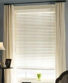 white slats and sheers - Google Search