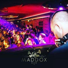 Inside #MaddoxClub - from our #DJ's perspective #WeMADDOX #dancefloor #dancing #nightlife #London #Mayfair #privatemembersclub #luxurylifestyle