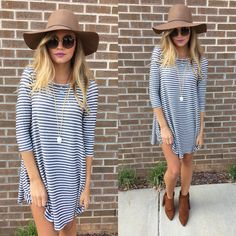 Stripe swing #swoonboutique