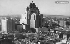 Historical photo of the Hotel #Vancouver from 1936, before the hotel opened to the public. Shot by The Province's John Mackie.