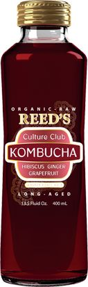 I just discovered Reeds Culture Club Kombucha, from the makers of Reeds Ginger Brews and other products -- delicious and refreshing!