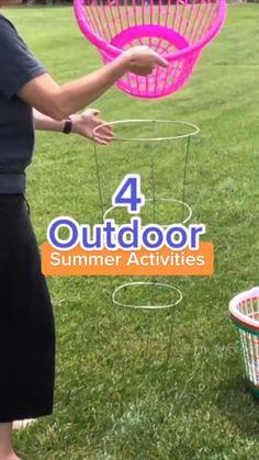Outdoor Summer Activities, Outdoor Games For Kids, Outdoor Fun, Fun Activities, Outside Games For Kids, Outdoor Party Games, Water Games For Kids, Family Party Games, Family Game Night