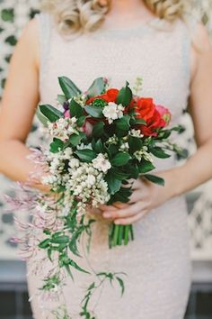 Bridesmaids bouquet   Lara Hotz Photography   see more on: http://burnettsboards.com/2014/08/emily-ed-stylists-vision-brought-life/