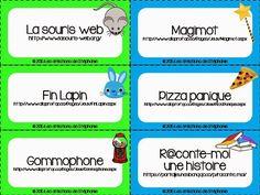 Un porte-clé de sites web éducatifs pour les élèves du primaire