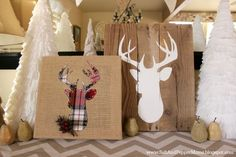 plaid deer art on burlap.png