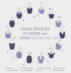 cool What jewelry to wear with what neckline