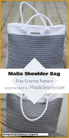 Malia Shoulder Bag - Free Crochet Pattern