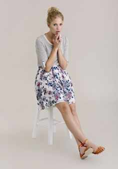 skirt, 13 going on 30 outfits, favorit outfit, stripe, floral