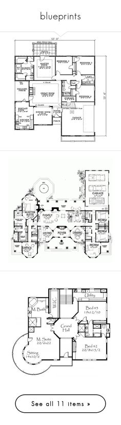 """""""blueprints"""" by wdav on Polyvore featuring fillers, text, house plans, blueprints, backgrounds, quotes, phrase, saying, floor plans и doodles"""