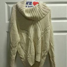 For Sale: Cream Sweater for $35