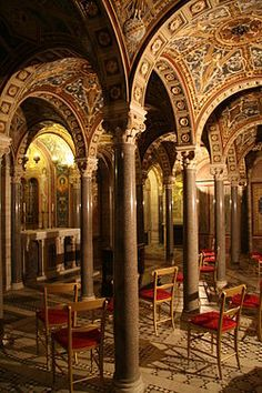 Santa Cecilia in Trastevere. So mad I didn't know about this considering I spent most of my time in Trastevere.