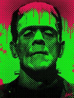 Pop Art Frankenstein