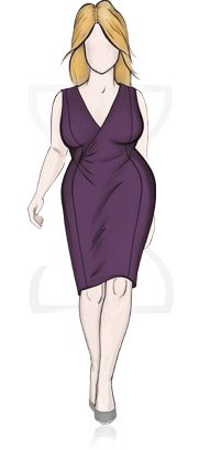 Site for size 14 and up, but determines your body type and gives great advice on clothes that can benefit anyone. You can also shop by your body type. How easy is that!!!!!