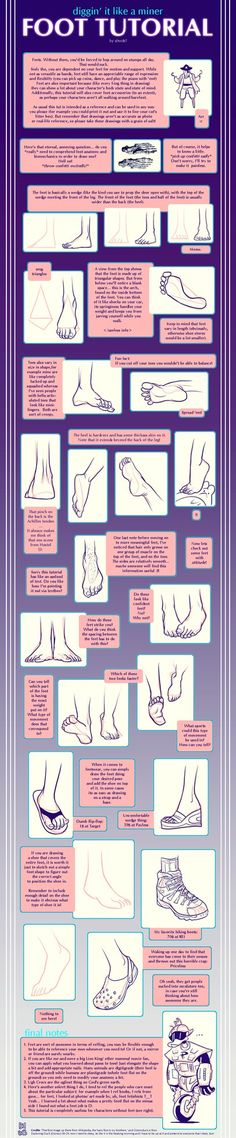 Foot tutorial by shingworks
