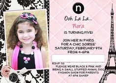 Parisian, French, Paris, Pink, Pink and black Birthday Party Ideas | Photo 1 of 47 | Catch My Party