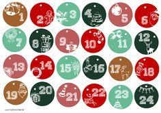 DIY: Adventskalender selber basteln -                                                                                                                                                                                 More