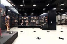 coordination asia: shanghai film museum links past and future Museum Exhibition, Exhibition Film, Exhibition Building, Exhibition Display, Museum Displays, Interactive Installation, Design Museum, Exhibit Design, Museum Shop