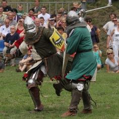 Knight's tournament in Uniejów