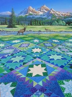 Explaining the Delectable Mountains Quilt Pattern, Part 3 - QNNtv.com