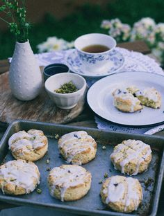 Chamomile Lavender Scones | Bird is the Word #designsponge #dssummerparty