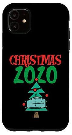 iPhone 11 Christmas 2020 Tree In Mask Xmas Quarantine Pajamas Gift Case Gift Store, Xmas, Christmas, Iphone 11, Pajamas, Neon Signs, Gifts, Pjs, Presents