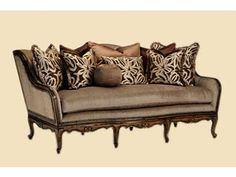 Devoted to lighter-scaled furniture with smaller dimensions. Grand. Opulent. Generously scaled. These descriptions have become synonymous with Marge Carsons luxury home furnishings brand.