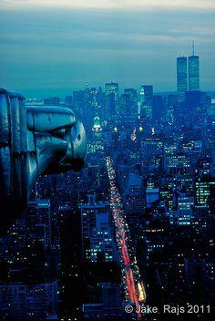 New York. Chrysler Building, Eagle gargoyle, New York City… | Flickr