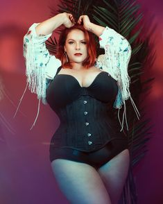 Image may contain: one or more people Plus Size Corset, Instagram Influencer, Curves, Lingerie, London, Studio, Sexy, People, Photograph