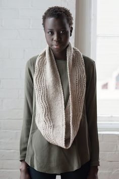 wending by quenna lee / quince & co owl in abyssinian