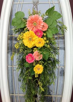 Spring Wreath Easter Wreath Summer Wreath by AnExtraordinaryGift, $65.00
