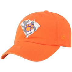 sale retailer 8de39 a131b Adult Top of the World Clemson Tigers Slove Cap, Med Orange