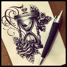 Sanduhr tattoo unterarm ideen von https://m.ideentattoo.com