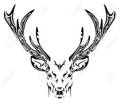 elk tribal tattoo - Google Search