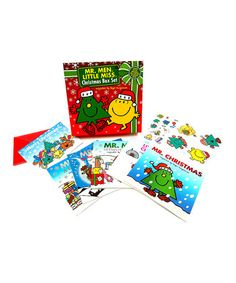 Love this Mr. Men Little Miss Christmas Book Box Set on #zulily! #zulilyfinds