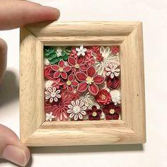 Flowers in mini frame