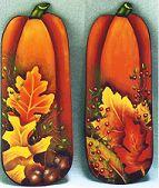 Fall Pumpkins & Leaves pattern packet