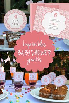 Imprimibles gratis para baby shower