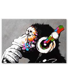 Diy Canvas Art, Acrylic Painting Canvas, Abstract Animal Art, Tableau Pop Art, Elephant Tattoo Design, Monkey Art, Graffiti, Music Artwork, Pencil Art Drawings