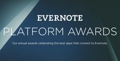 Humbled and honored to be nominated. Please get out the vote for StudyBlue in the Evernote Platform Awards!  https://platformawards.evernote.com/vote/education/