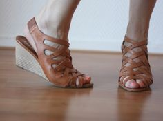 Nice leather sandals