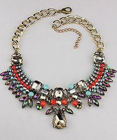 Aztec Statment Necklace- $23.75
